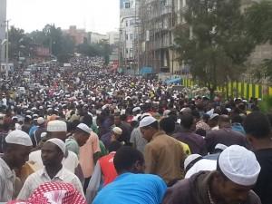 Ethiopian Muslim Protest