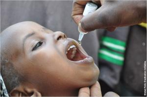 Ethiopia polio vaccination campaign