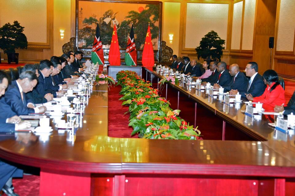 Kenya Signs $5 Billion Deal with China