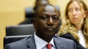 William Ruto at ICC