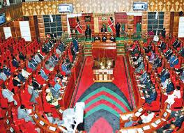 Kenya Parliament in session