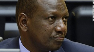 Kenya's Deputy President William Ruto during the trial