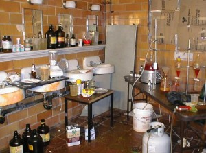 A Methamphetamine Manufacturing Lab