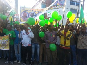 Millions of Voices March in Addis Ababa 29 September 2013