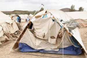 One of the IDP Camps in Kenya
