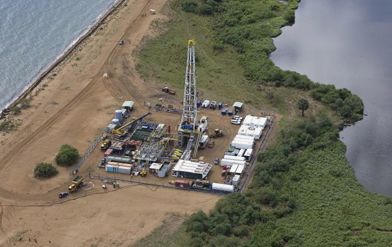 ugandan oil field
