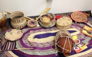 Artifacts at the Somali Museum in Minnepolis
