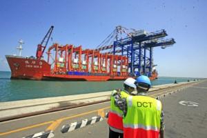 Dolareh port container terminal