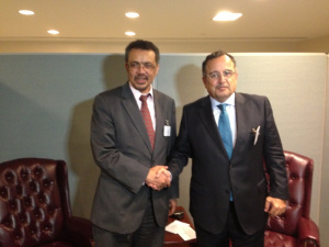 Ethiopian and Egyptian Foreign Ministers Hold Talks