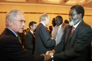 South Sudan peace talks at Sheraton Addis