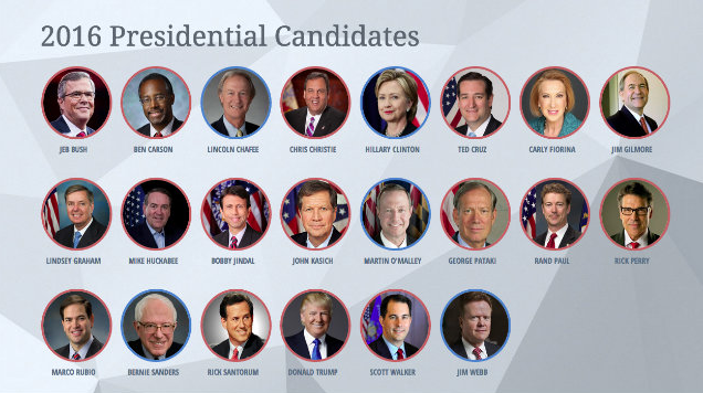 2016 U.S. Presidential Candidates