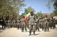 Ethiopian Soldiers AMISOM