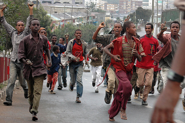 Widespread Anti-Government Protests in Ethiopia Over the Weekend Leads to Deaths and Arrests