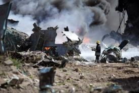 Ethiopian Airforce Plane Crashes