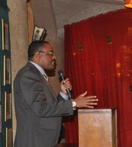 Government Spokesman, Redwan Hussein