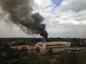 APTOPIX Kenya Mall Attack