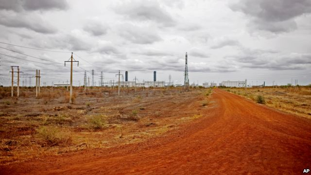 Abandoned Oil Installations in South Sudan
