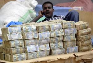 A somali Money changer