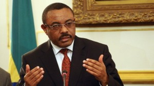 Ethiopian Foreign Minister Hailemariam Desalegn visits Egypt