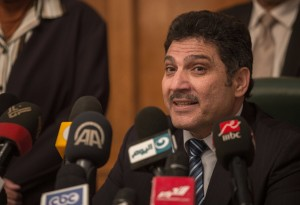 Water Resources and Irrigation minister Hossam Moghazy