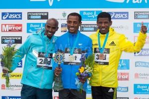 Haile Gebrselassie and Kenenisa Bekele