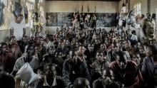 Ethiopian migrants in jail in Malawi.