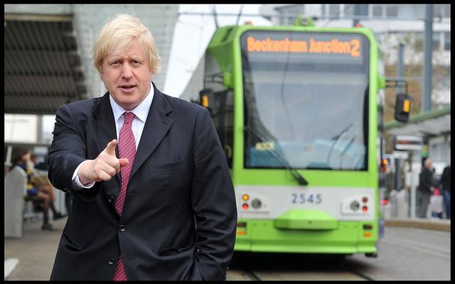 British Foreign Secretary Boris Johnson Says EU Should Turn Migrant Boats Back to the Mediterranean